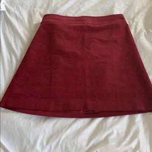 J. Crew NWT corduroy mini skirt